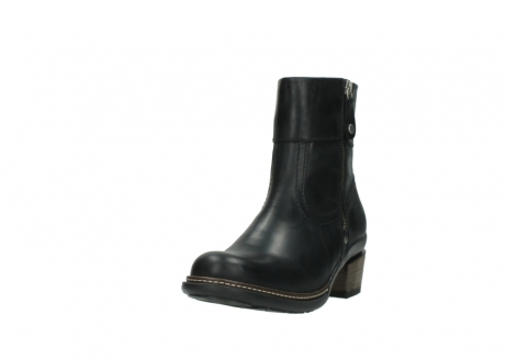 wolky ankle boots 00479 arriba cw 80000 black leather cold winter warm lining_21