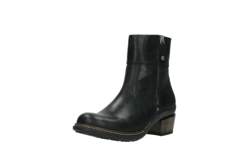 wolky ankle boots 00479 arriba cw 80000 black leather cold winter warm lining_22