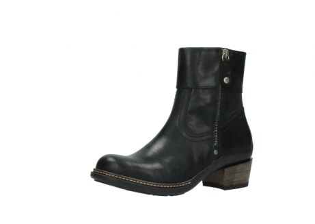 wolky ankle boots 00479 arriba cw 80000 black leather cold winter warm lining_23