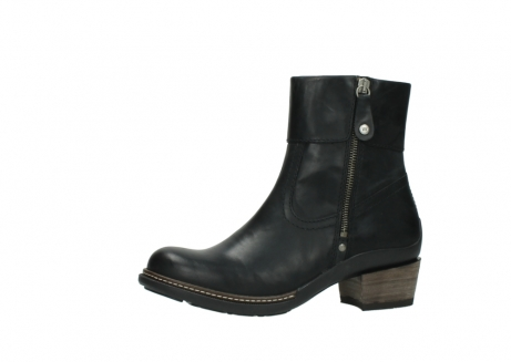 wolky ankle boots 00479 arriba cw 80000 black leather cold winter warm lining_24