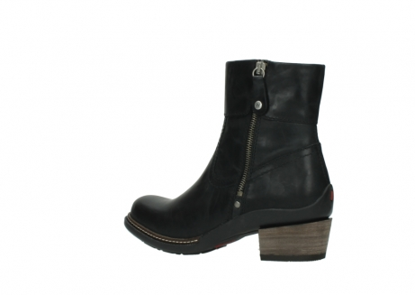 wolky ankle boots 00479 arriba cw 80000 black leather cold winter warm lining_3