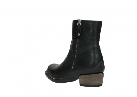 wolky ankle boots 00479 arriba cw 80000 black leather cold winter warm lining_4