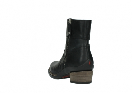 wolky ankle boots 00479 arriba cw 80000 black leather cold winter warm lining_5