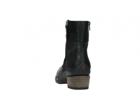 wolky ankle boots 00479 arriba cw 80000 black leather cold winter warm lining_6