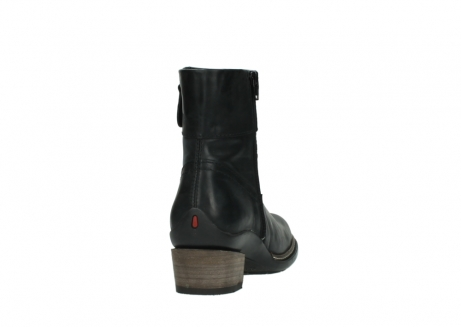 wolky ankle boots 00479 arriba cw 80000 black leather cold winter warm lining_8