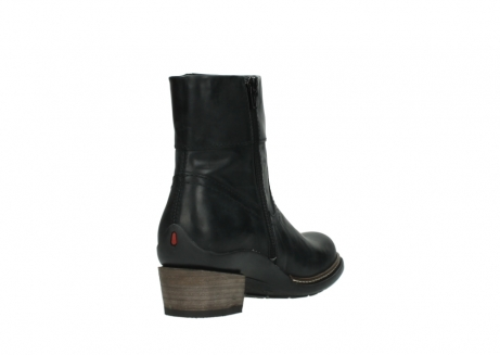 wolky ankle boots 00479 arriba cw 80000 black leather cold winter warm lining_9