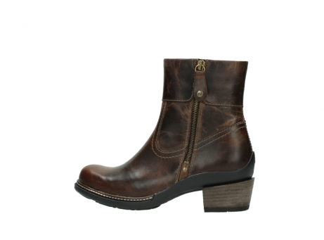 wolky ankle boots 00479 arriba cw 80430 cognac leather cold winter warm lining_2