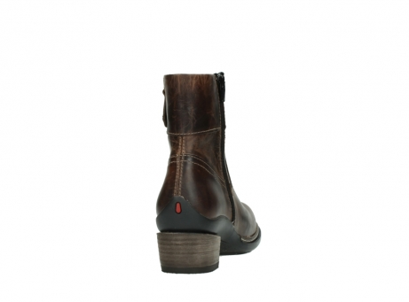wolky ankle boots 00479 arriba cw 80430 cognac leather cold winter warm lining_8
