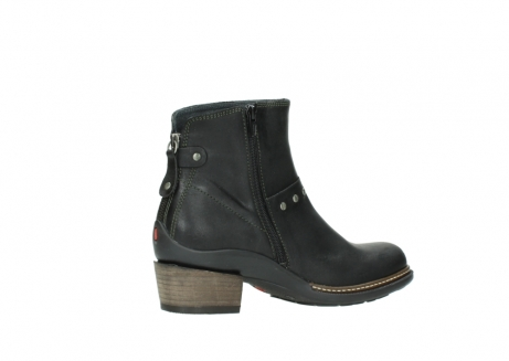 wolky ankle boots 00480 riva 50730 forest green oiled leather_11
