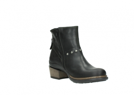 wolky ankle boots 00480 riva 50730 forest green oiled leather_16