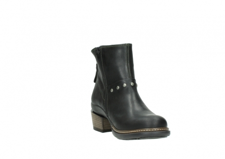 wolky ankle boots 00480 riva 50730 forest green oiled leather_17