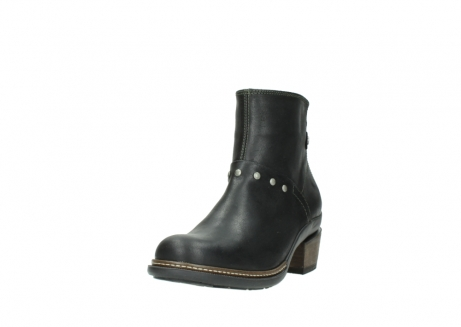wolky ankle boots 00480 riva 50730 forest green oiled leather_21