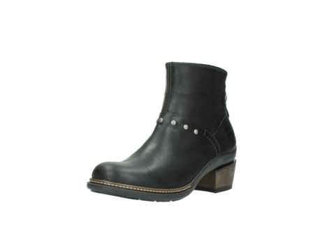 wolky ankle boots 00480 riva 50730 forest green oiled leather_22
