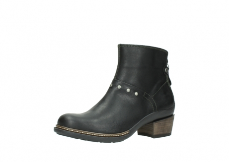 wolky ankle boots 00480 riva 50730 forest green oiled leather_23