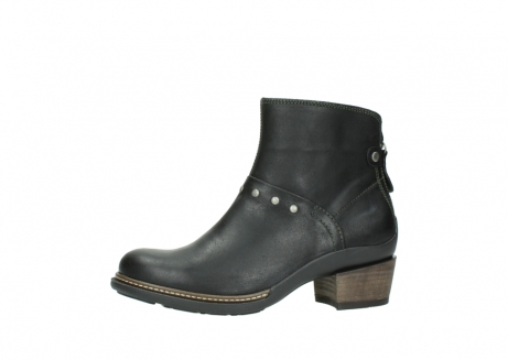 wolky ankle boots 00480 riva 50730 forest green oiled leather_24