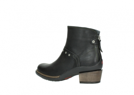 wolky ankle boots 00480 riva 50730 forest green oiled leather_3