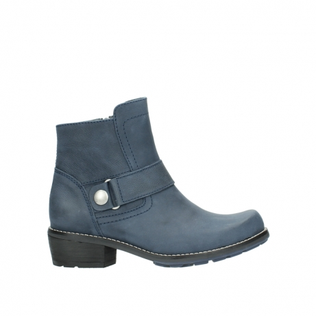 wolky ankle boots 00525 gila 10800 dark blue oiled nubuck