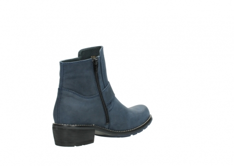 wolky ankle boots 00525 gila 10800 dark blue oiled nubuck_10