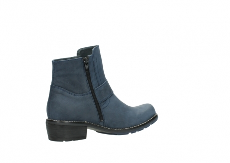 wolky ankle boots 00525 gila 10800 dark blue oiled nubuck_11