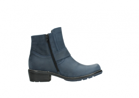 wolky ankle boots 00525 gila 10800 dark blue oiled nubuck_13
