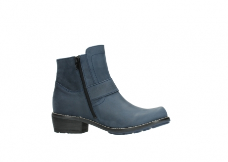 wolky ankle boots 00525 gila 10800 dark blue oiled nubuck_14