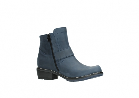 wolky ankle boots 00525 gila 10800 dark blue oiled nubuck_15