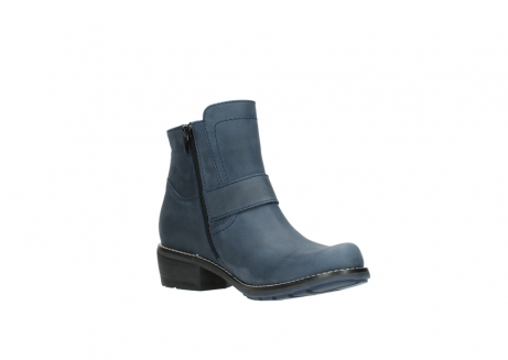 wolky ankle boots 00525 gila 10800 dark blue oiled nubuck_16