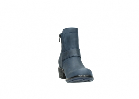wolky ankle boots 00525 gila 10800 dark blue oiled nubuck_18