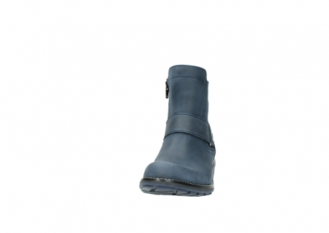 wolky ankle boots 00525 gila 10800 dark blue oiled nubuck_20