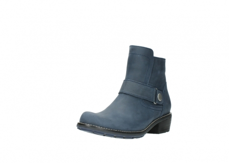wolky ankle boots 00525 gila 10800 dark blue oiled nubuck_22