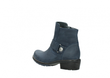 wolky ankle boots 00525 gila 10800 dark blue oiled nubuck_4