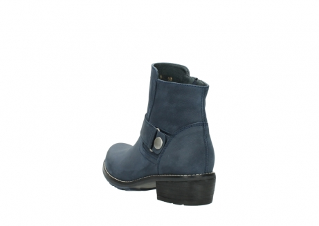 wolky ankle boots 00525 gila 10800 dark blue oiled nubuck_5