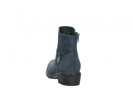 wolky ankle boots 00525 gila 10800 dark blue oiled nubuck_6