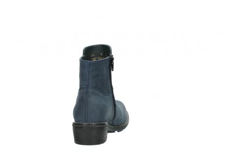 wolky ankle boots 00525 gila 10800 dark blue oiled nubuck_8