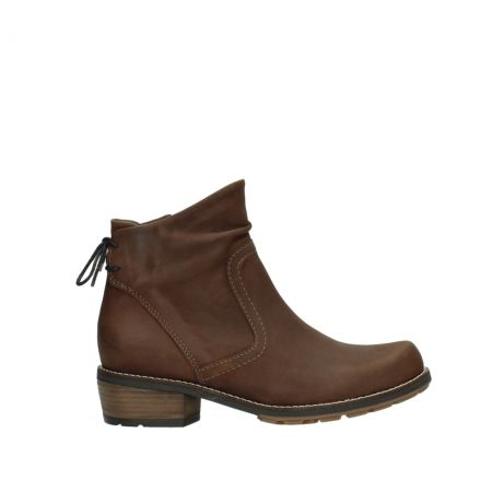 wolky ankle boots 00529 yarra 11432 cognac oiled nubuck