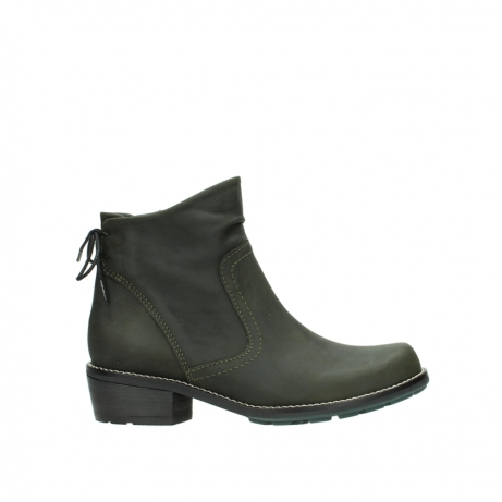 wolky ankle boots 00529 yarra 11732 forestgreen oiled nubuck