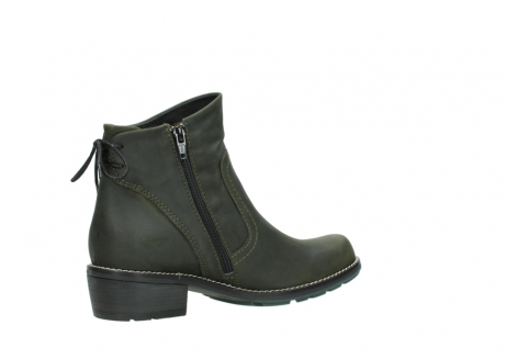 wolky ankle boots 00529 yarra 11732 forestgreen oiled nubuck_11