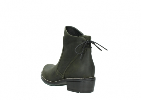 wolky ankle boots 00529 yarra 11732 forestgreen oiled nubuck_5
