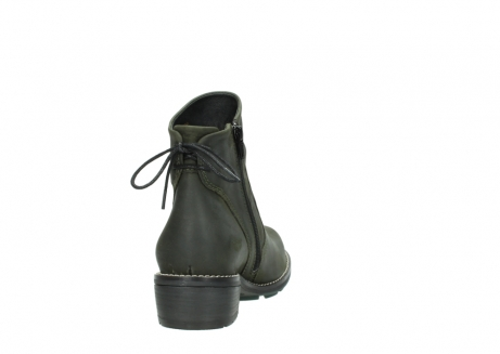 wolky ankle boots 00529 yarra 11732 forestgreen oiled nubuck_8