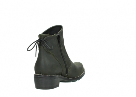 wolky ankle boots 00529 yarra 11732 forestgreen oiled nubuck_9