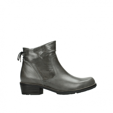 wolky ankle boots 00529 yarra 30200 grey leather