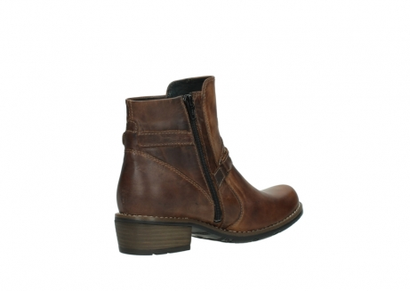 wolky ankle boots 00559 chico 80430 cognac leather_10