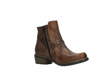 wolky ankle boots 00559 chico 80430 cognac leather_15