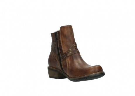 wolky ankle boots 00559 chico 80430 cognac leather_16