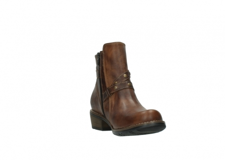 wolky ankle boots 00559 chico 80430 cognac leather_17