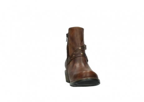 wolky ankle boots 00559 chico 80430 cognac leather_18