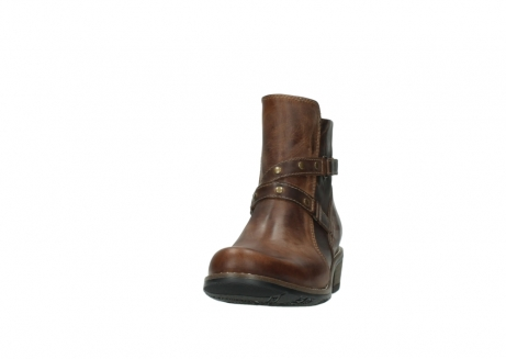wolky ankle boots 00559 chico 80430 cognac leather_20