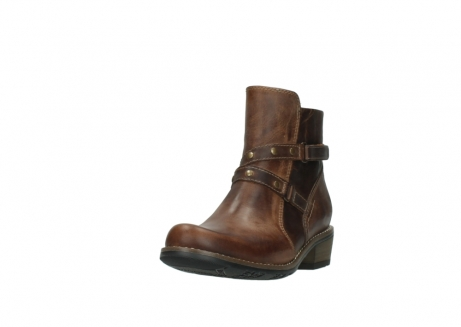 wolky ankle boots 00559 chico 80430 cognac leather_21