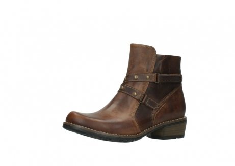 wolky ankle boots 00559 chico 80430 cognac leather_23