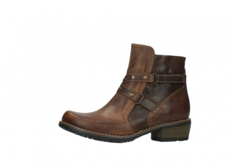 wolky ankle boots 00559 chico 80430 cognac leather_24